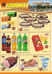 Gazetka promocyjna Jubilat - Promocje w sklepie Jubilat - ważna do 02-09-2020