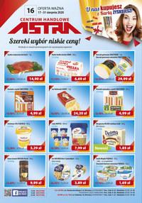 Gazetka promocyjna Astra - Promocje Astra - ważna do 31-08-2020