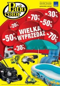 Gazetka promocyjna Patio Color - Wielka wyprzedaż w Patio Color - ważna do 05-09-2020