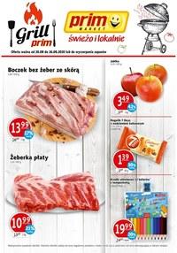 Gazetka promocyjna Prim Market - Świeżo i lokalnie w Prim Market! - ważna do 26-08-2020