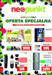 Gazetka promocyjna NEOPUNKT - Neopunkt - sierpniowa oferta specjalna - ważna do 25-08-2020