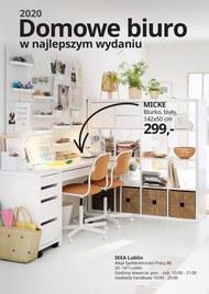 Domowe biuro z Ikea