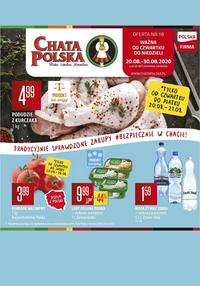 Gazetka promocyjna Chata Polska - Blisko, lokalnie, normalnie - Chata Polska! - ważna do 30-08-2020