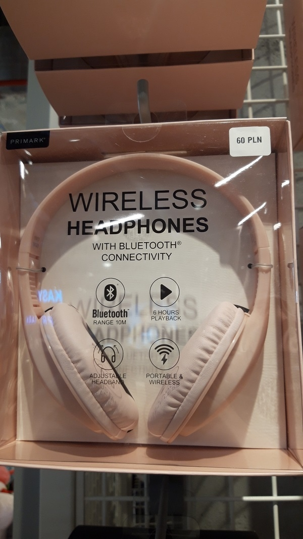 słuchawki do uszu Primark
