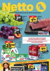 Gazetka promocyjna Netto - Oferta spożywcza Netto! - ważna do 30-08-2020