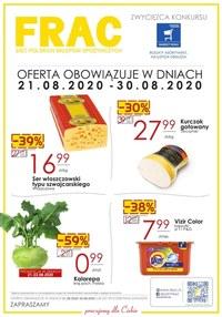 Gazetka promocyjna FRAC - Gazetka promocyjna Frac - ważna do 30-08-2020
