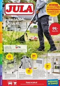 Gazetka promocyjna Jula - Pora zadbać o działkę z Julą! - ważna do 04-09-2020