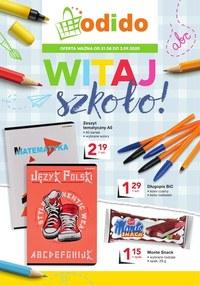 Gazetka promocyjna Odido - Witaj szkoło! - Odido - ważna do 03-09-2020