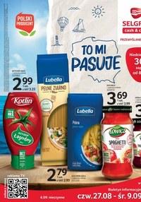 Gazetka promocyjna Selgros Cash&Carry - Oferta spożywcza Selgros - ważna do 09-09-2020