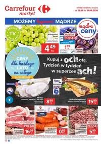 Gazetka promocyjna Carrefour Market - Mądre zakupy z  Carrefour Market! - ważna do 31-08-2020