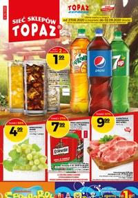 Gazetka promocyjna Topaz - Promocje w sklepach Topaz - ważna do 02-09-2020