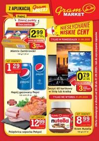 Gazetka promocyjna Gram Market - Niesłychanie niskie ceny w Gram Market - ważna do 09-09-2020