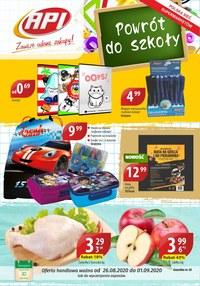 Gazetka promocyjna Api Market - Powrót do szkoły z Api Market  - ważna do 01-09-2020