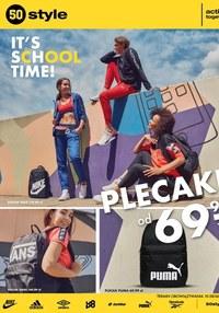 Gazetka promocyjna 50 style - Back to school z 50 style! - ważna do 06-09-2020