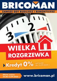Gazetka promocyjna Bricoman - Wielka rozgrzewka cenowa w Bricomanie! - ważna do 13-09-2020