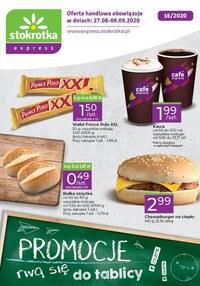 Gazetka promocyjna Stokrotka Express - Promocje rwą się do tablicy! Stokrotka Express - ważna do 09-09-2020