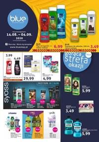Gazetka promocyjna Blue Stop - Promocje w drogeriach Blue - ważna do 04-09-2020
