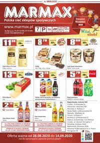 Gazetka promocyjna Marmax - Promcoje na artykuły spożywcze w Marmax - ważna do 14-09-2020