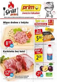 Gazetka promocyjna Prim Market - Świeżo i lokalnie w Prim Markecie! - ważna do 02-09-2020