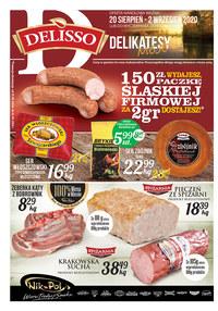 Gazetka promocyjna Delisso - Promocje w sklepach Delisso - ważna do 02-09-2020