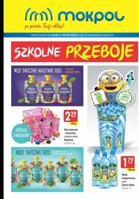 Gazetka promocyjna Mokpol - Szkolne przeboje Mokpol! - ważna do 09-09-2020