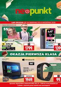 Gazetka promocyjna NEOPUNKT - Łap okazje w Neopunkt! - ważna do 08-09-2020