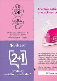 Gazetka promocyjna Silcare - Książeczka rabatowa Silcare!