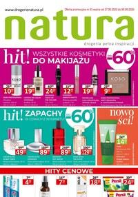 Gazetka promocyjna Drogerie Natura - Zniżka do 60% na kosmetyki w Natura! - ważna do 09-09-2020