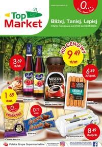 Gazetka promocyjna Top Market - Bliżej, taniej, lepiej - Top Market! - ważna do 02-09-2020
