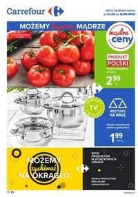 Gazetka promocyjna Carrefour - Kupuj mądrze w sklepach Carrefour! - ważna do 12-09-2020
