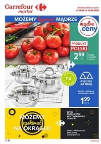 Gazetka promocyjna Carrefour Market - Promocje w sklepach Carrefour Market - ważna do 12-09-2020