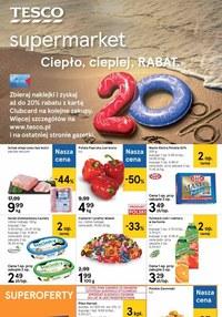 Gazetka promocyjna Tesco Supermarket - Hity miesiąca w Tesco Supermarket - ważna do 09-09-2020