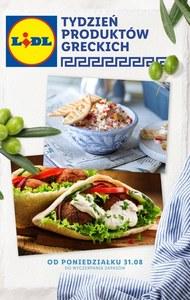 Produkty greckie w Lidlu!