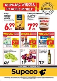 Gazetka promocyjna Supeco - Kupuj więcej za mniej w Supeco!  - ważna do 07-09-2020