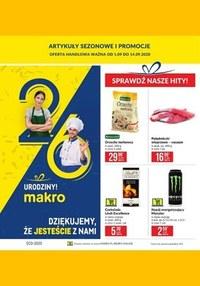 Gazetka promocyjna Makro Cash&Carry - Urodzinowe promocje w Makro! - ważna do 14-09-2020