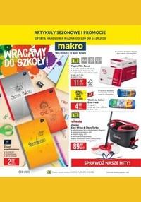 Gazetka promocyjna Makro Cash&Carry - Powrót do szkoły z Makro - ważna do 14-09-2020