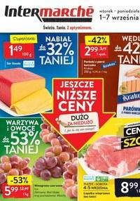Gazetka promocyjna Intermarche Super - Cenowy szok w Intermarche!  - ważna do 07-09-2020