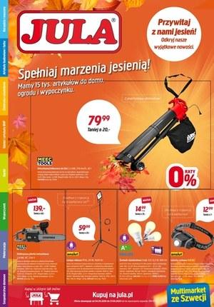 Gazetka promocyjna Jula - Jula - spełniaj marzenia jesienią!