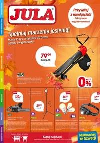 Gazetka promocyjna Jula - Jula - spełniaj marzenia jesienią! - ważna do 27-09-2020