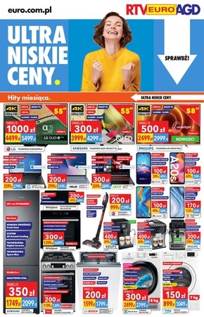 Ultra niskie ceny w RTV EURO AGD