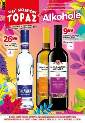 Gazetka promocyjna Topaz - Katalog alkoholowy Topaz!