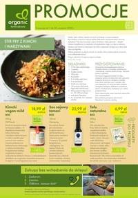 Gazetka promocyjna Organic - Oferta wrześniowa Organic - ważna do 30-09-2020
