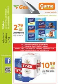 Gazetka promocyjna Gama - Promocje w sklepach Gama - ważna do 14-09-2020