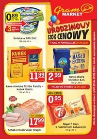 Gazetka promocyjna Gram Market - Gram Market - urodzinowy szok cenowy - ważna do 08-09-2020