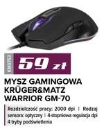 Mysz gamingowa Krüger&Matz
