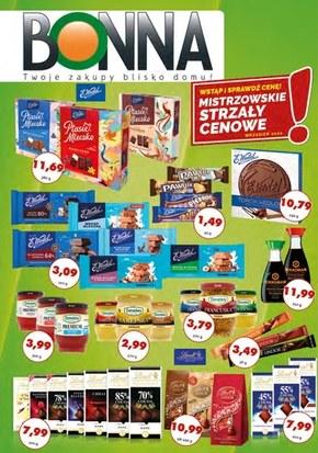Promocje w sklepach Bonna