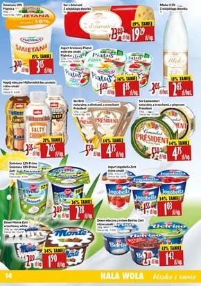 Promocje w sklepach Hala Wola