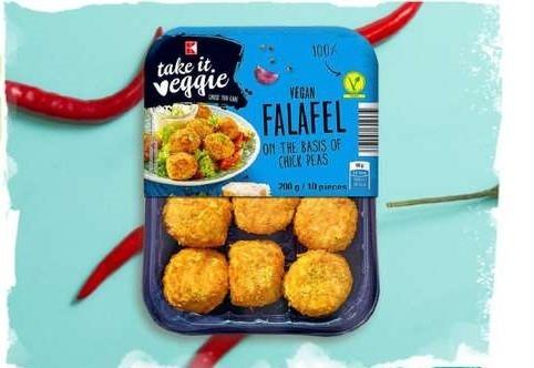 Kotleciki wegańskie i Falafel w Kaufland