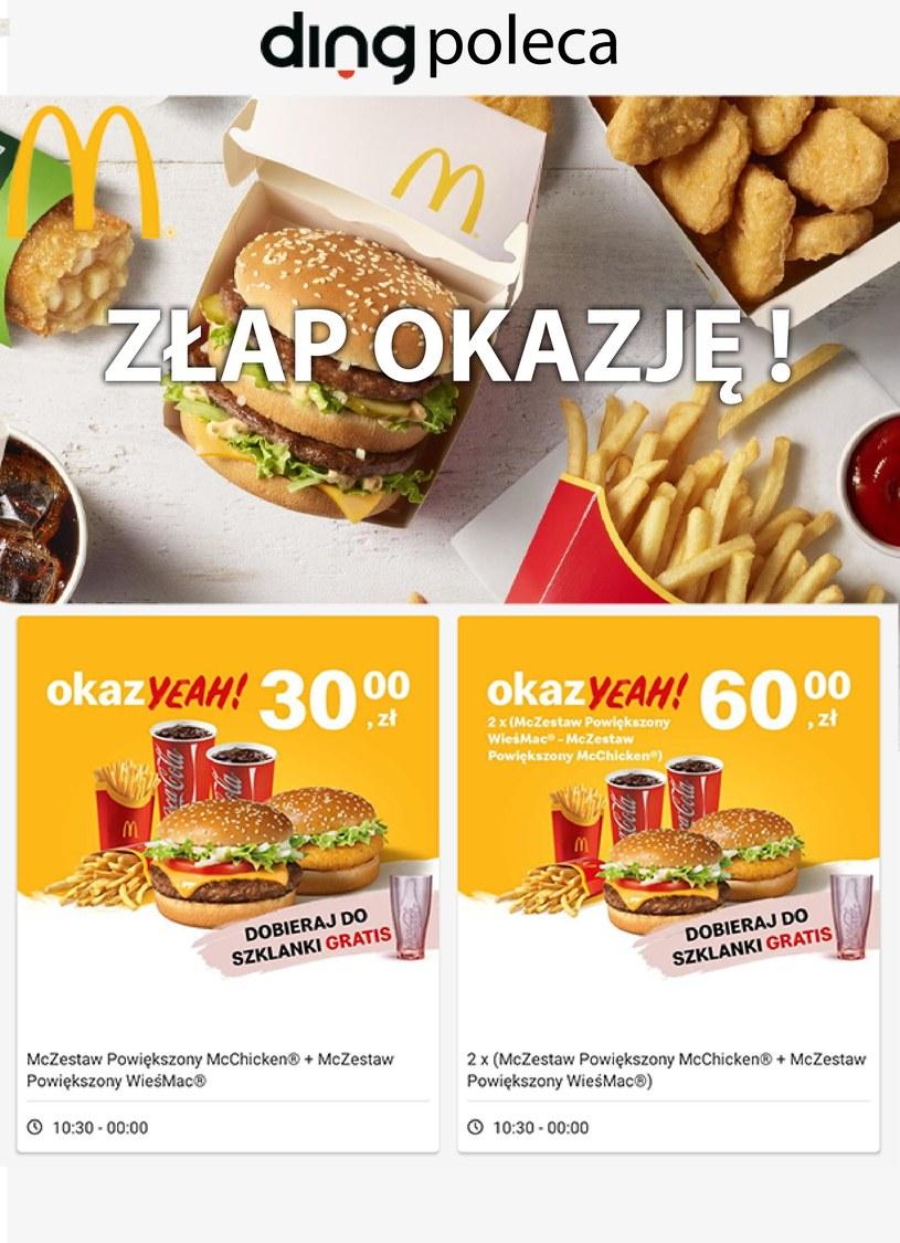 Gazetka promocyjna McDonald's - wygasła 230 dni temu