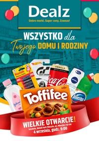 Gazetka promocyjna Dealz - Wielkie otwarcie Dealz Szczecin - ważna do 11-09-2020